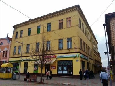 Stambeno – poslovna zgrada pešačka zona Zrenjanin